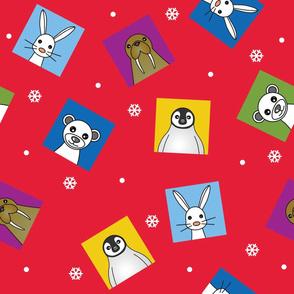 Polar Animals Print