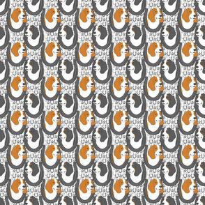 Small Basset hound horseshoe portraits