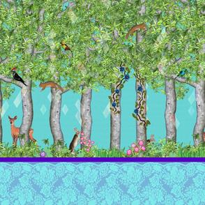 Forest Trip (72in - Bleuet)