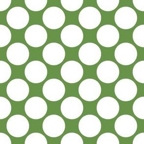 Circus Polk- Lime Green