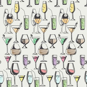 Mix Cocktails pattern