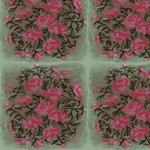 Celadon Peonies Garden 2