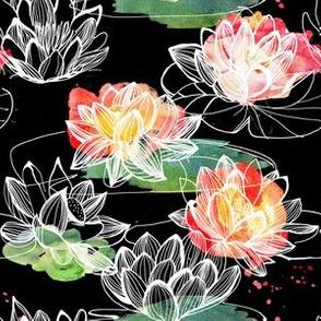 Red Japan Lotus
