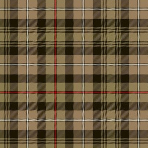 "Mackenzie hunting tartan, 6"" ancient brown"