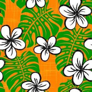 Garden Edge board short orange