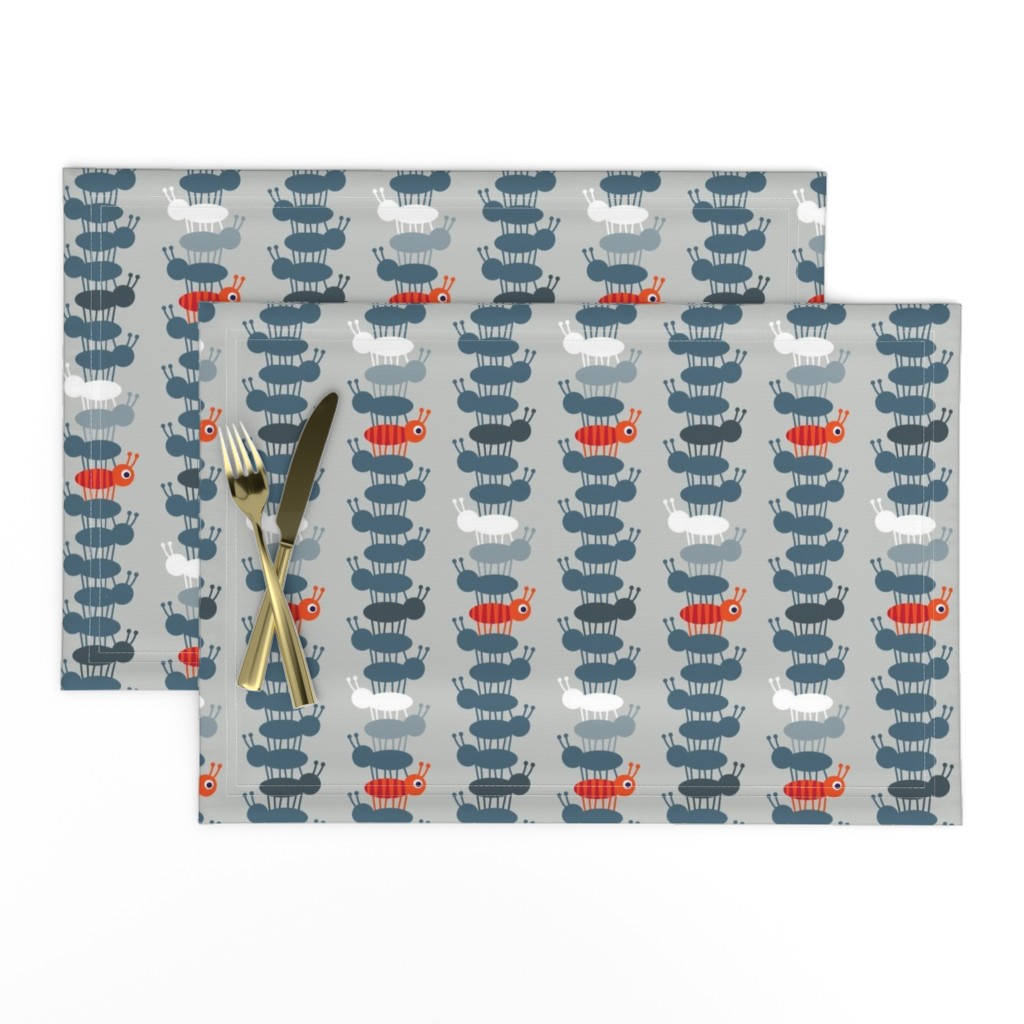 Lamona Cloth Placemats featuring Jack Tower by spellstone