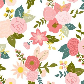 Pretty in pink floral