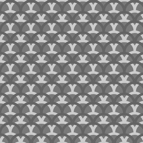 Overlapping Waves (grey variant)