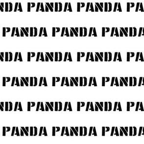 PANDA + PANDA + PANDA
