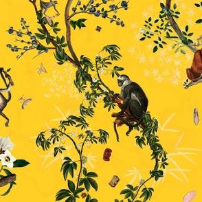 Monkey World Reportable Yellow