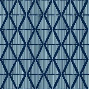 Diamond Ikat Blue