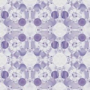 Purple Circles Geometric