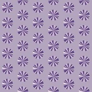 Purple Color Burst Dot