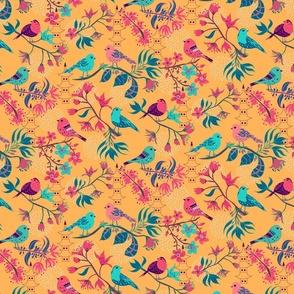 Birds and Blossom Mango