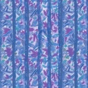Blue Moss Stripes