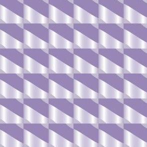 Purple Squares and Stripes Geometric