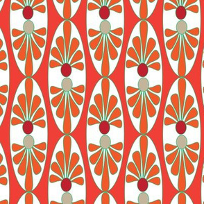16-13AC Italy Tomato Red Orange Tile Home Decor