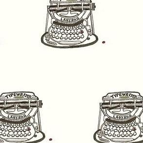 Ladybug Typewriter