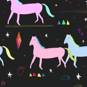 Magical horsey nights
