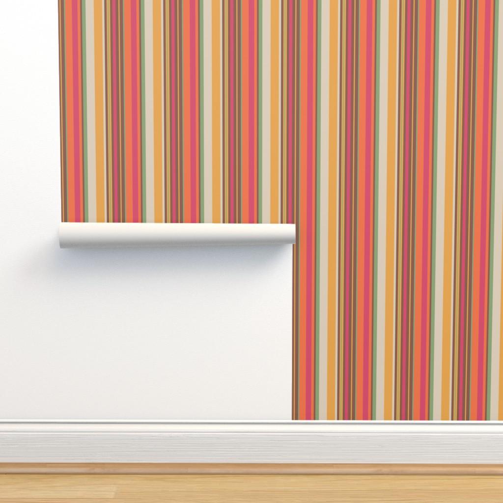 Isobar Durable Wallpaper featuring UMBELAS STRIP 4 by umbelas
