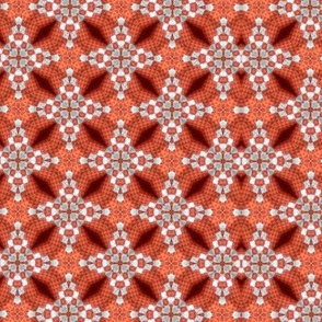 Orange Texture Kaleidoscope