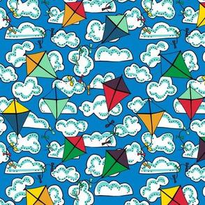 kites with clouds: dream kangaroo