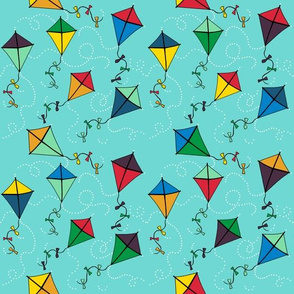 kites blustery day in dew: dream kangaroo