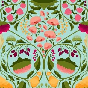 The Blossoming Garden {Raspberry}