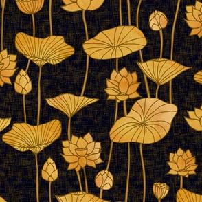 Golden Lotuses