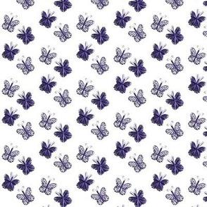 Tiny Purple Butterflies