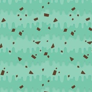 Melty Mint Chocolate Chip