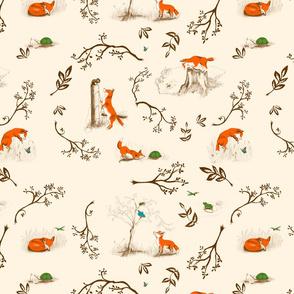 fox toile