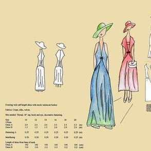 Paper Sewing Pattern