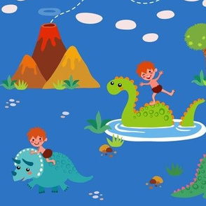 Fun with Dinosaurs | Blue