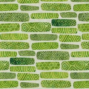 Watercolour Hedges
