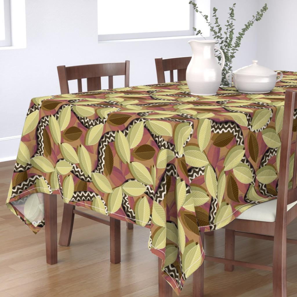 Bantam Rectangular Tablecloth featuring Snakebite  by spellstone
