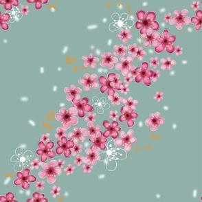 Blossoming kimono