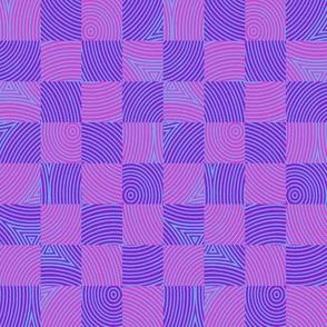 circle checker in Bob's purple/pink