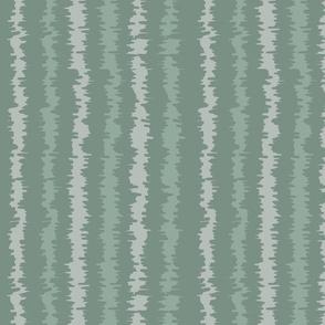 Ikat Green Stripes