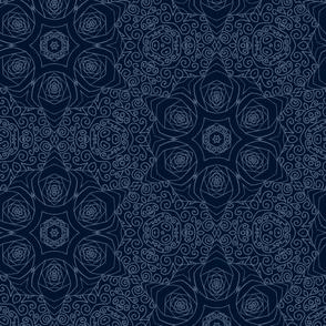 Mandala Starry Blue Space