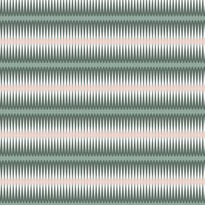 Green Blush Pink Diamond stripes