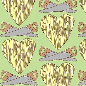 The Lumberjack Who Found the Wooden Heart