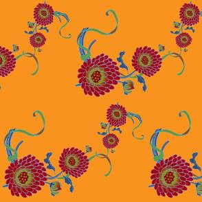 kimono chrys lt gold