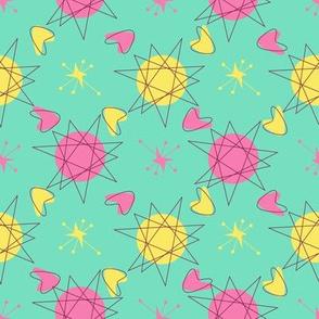Atomic Shapes-Mint