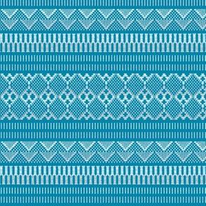 Weave (saxe blue)