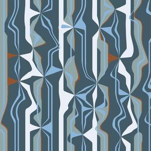 Evolution Matter - Geo Stripes