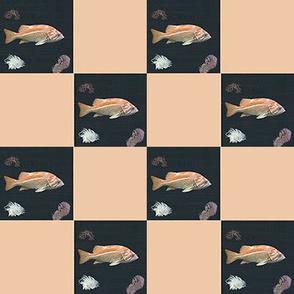 Fish   2 inch  Check