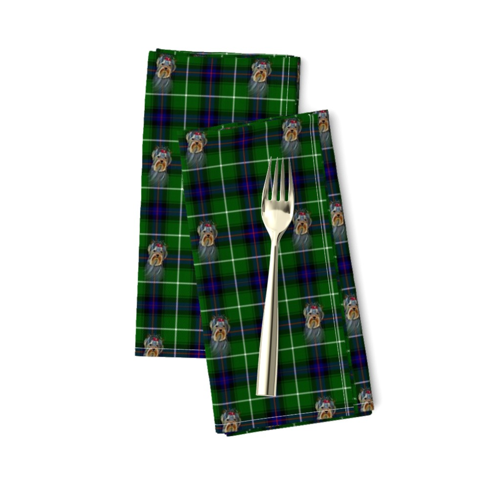 Amarela Dinner Napkins featuring BLUE & GREEN by barbyyy