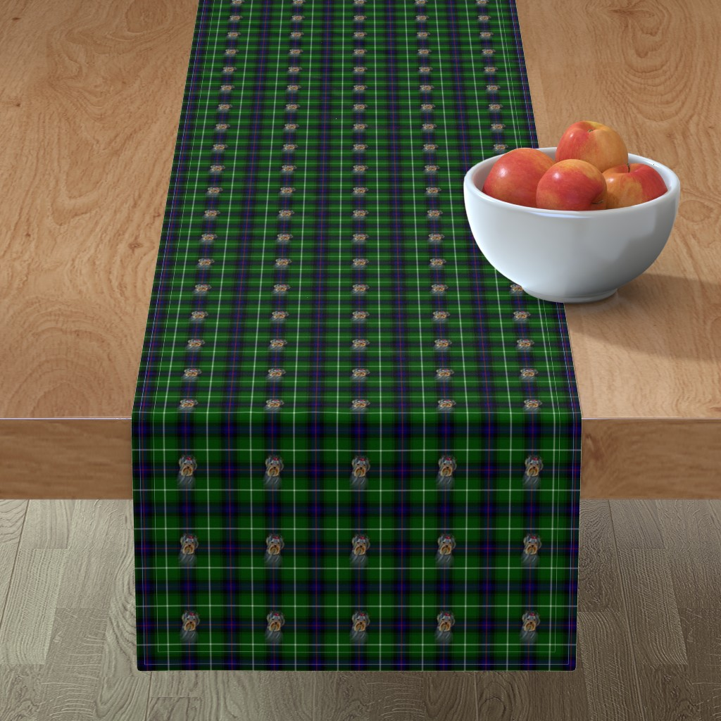 Minorca Table Runner featuring BLUE & GREEN by barbyyy