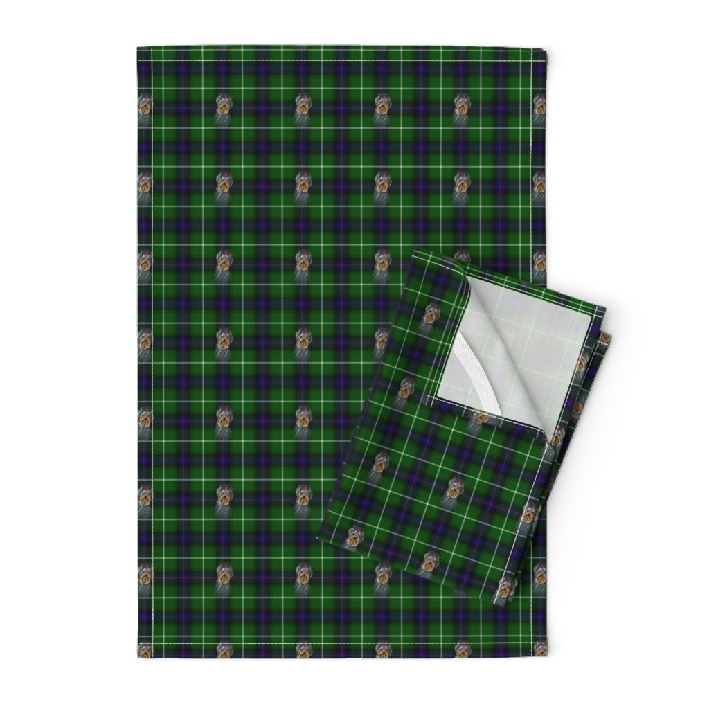Orpington Tea Towels featuring BLUE & GREEN by barbyyy